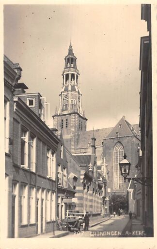Ansichtkaart Groningen A-Kerk Fotokaart Ir. W. Voerman HC3655