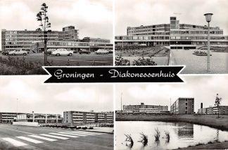 Ansichtkaart Groningen Diakonessenhuis Ziekenhuis 1965 HC3680