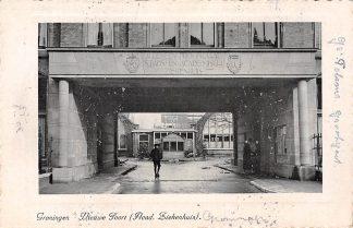 Ansichtkaart Groningen Nieuwe Poort ( Acad. Ziekenhuis ) 1941 HC3726