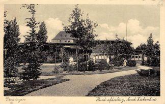 Ansichtkaart Groningen Acad. Ziekenhuis Huid afdeeling HC3732