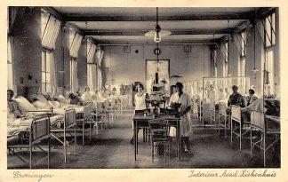 Ansichtkaart Groningen Acad. Ziekenhuis Interieur HC3733