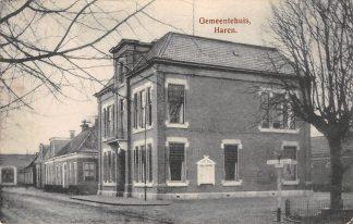 Ansichtkaart Haren Gemeentehuis HC3809