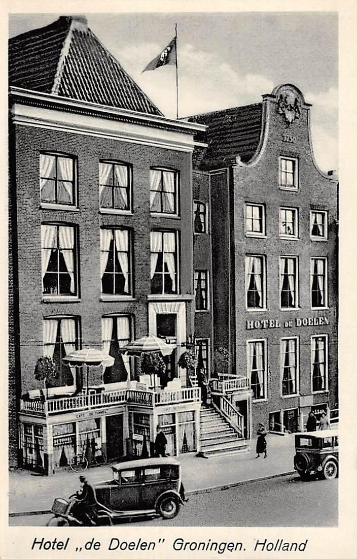 Groningen Reclame Hotel De Doelen Auto Hc3862