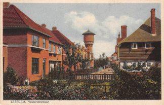 Ansichtkaart Leerdam Watertorenlaan 1927 Watertoren HC3873