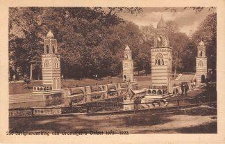 Ansichtkaart Groningen 250 jarigherdenking van Groningen's Ontzet 1672 - 1922 HC3922