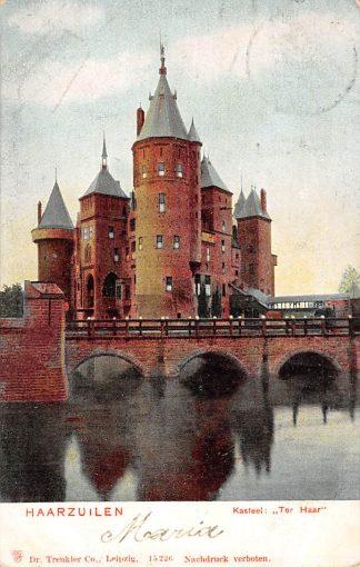 Ansichtkaart Haarzuilens Kasteel Ter Haar 1904 HC3939