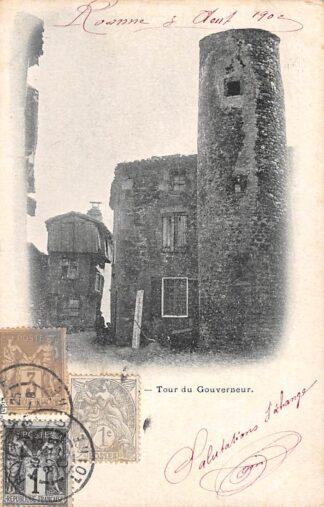 Ansichtkaart Roanne Loire Tour du Gouverneur 1902 Frankrijk France HC3942