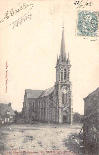 Ansichtkaart Environs de Mayenne Saint-George-Buttavent 1903 Frankrijk France HC3944