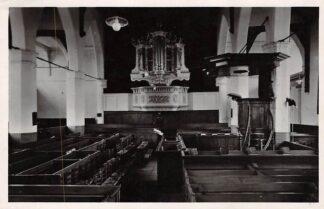 Ansichtkaart Woudrichem Interieur Ned. Hervormde Kerk Orgel 1946 HC3958