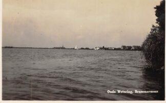 Ansichtkaart Oude Wetering Fotokaart Brasemermeer 1932 HC3959