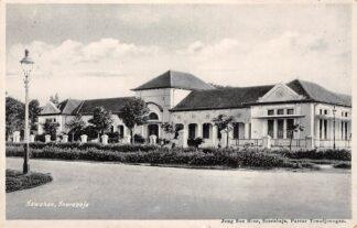 Ansichtkaart Nederlands-Indië Soerabaja Sawahan De Ambachts school Surabaya Azië HC3990