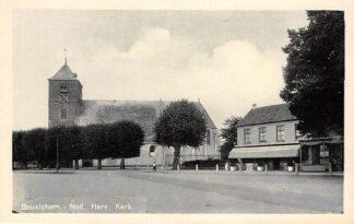 Ansichtkaart Beusichem Ned. Hervormde Kerk Restaurant Buren (GD) Betuwe HC4003