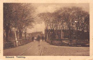 Ansichtkaart Bolsward Trambrug Vervoer Tram HC4021