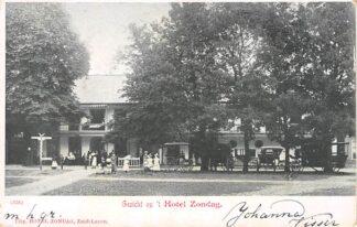 Ansichtkaart Zuidlaren Gezicht op 't Hotel Zondag HC4026