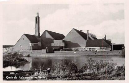 Ansichtkaart Aalsmeer Aalsmeersche Veiling 1949 HC4031