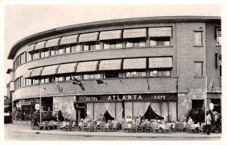 Ansichtkaart Apeldoorn Hotel Café Restaurant Atlanta Stationsplein 1959 Reclame HC4034