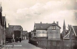 Ansichtkaart Gouderak Dorpsstraat 1934 HC4124