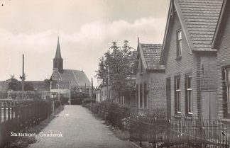 Ansichtkaart Gouderak Smitsstraat 1934 HC4125