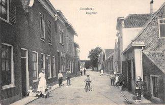 Ansichtkaart Gouderak Dorpstraat 1918 HC4126