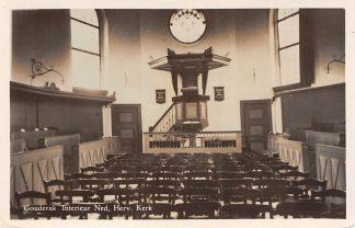 Ansichtkaart Gouderak Interieur Ned. Herv. Kerk HC4137