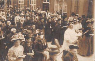 Ansichtkaart Duitsland Kevelaer Fotokaart Processie verstuurd naar Vogelenzang 1912 Deutschland Europa HC4145