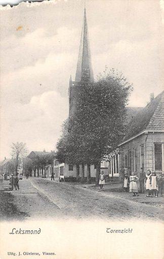 Ansichtkaart Lexmond Torenzicht voor 1906 HC4183