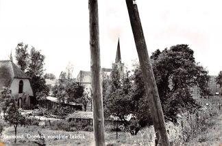 Ansichtkaart Lexmond Doorkijk van de Lek dijk 1965 HC4188