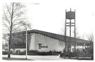 Ansichtkaart Drachten Gereformeerde Menorah kerk HC4206