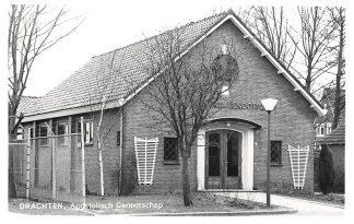 Ansichtkaart Drachten Apostolisch Genootschap Kerk HC4209
