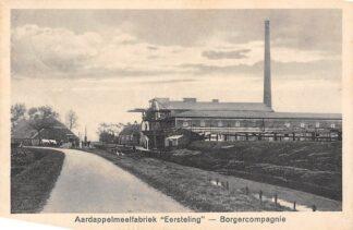 Ansichtkaart Borgercompagnie Aardappelmeelfabriek Eersteling Tussen Hoogezand-Sappemeer en Veendam 1932 HC4221