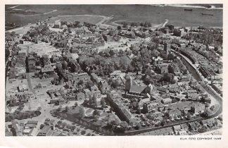 Ansichtkaart Tiel 1946 KLM Luchtfoto 16465 HC4225