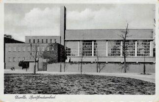 Ansichtkaart Zwolle Sportfondsenbad 1942  HC4228