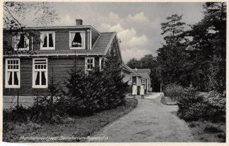 Ansichtkaart Appelscha Mannenpaviljoen Sanatorium 1934 HC4244