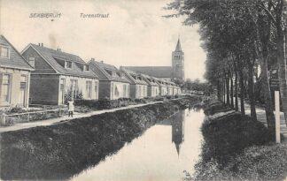 Ansichtkaart Sexbierum Torenstraat 1927 HC4248