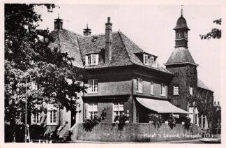 Ansichtkaart Hengelo (OV) Hotel 't Lansink 1955 HC4250