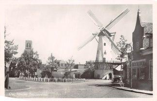 Ansichtkaart Oss Nieuwe Brouwersstraat Molen 1949 HC4263