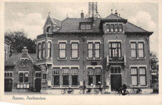 Ansichtkaart Deurne Postkantoor 1943 HC4274