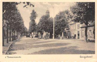 Ansichtkaart 's-Gravenzande Langestraat 1946 HC4287