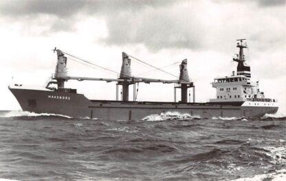 Ansichtkaart Delfzijl Maasborg E. Wagenborg Scheepvaart Schepen HC4359