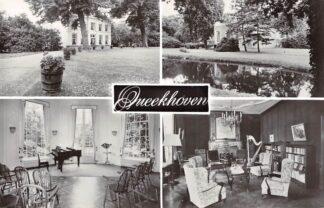 Ansichtkaart Breukelen Kasteel Queekhoven Zandpad HC4391