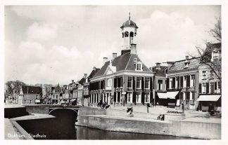 Ansichtkaart Dokkum Stadhuis 1947 HC4394