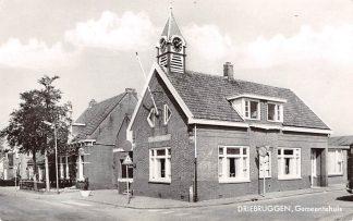 Ansichtkaart Driebruggen (ZH) Gemeentehuis HC4439