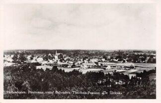 Ansichtkaart Hellendoorn Panorama vanaf Belvedère Theehuis Pension De Uitkijk 1948 HC4515