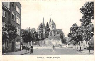 Ansichtkaart Deventer Bergkerk (Oostzijde) 1953 HC4519