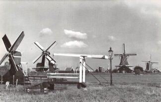 Ansichtkaart Zaandam Zaanse Schans met molens Molen HC4578