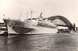 Ansichtkaart Scheepvaart De Oriana in de haven van Sydney Australië Rederij P. & O. Oriënt Line Engeland Schepen HC4630