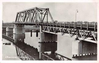 Ansichtkaart Roermond Maasbrug 1952 HC4632