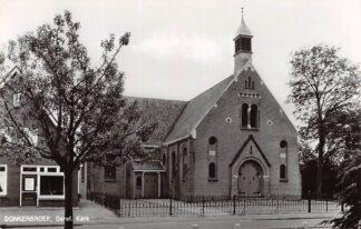 Ansichtkaart Donkerbroek Gereformeerde Kerk 1974 HC4642