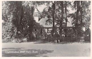 Ansichtkaart Oudemirdum Ned. Hervormde Kerk 1950 HC4643