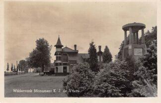 Ansichtkaart Wildervank Monument K.J. de Vrieze 1942 HC4644